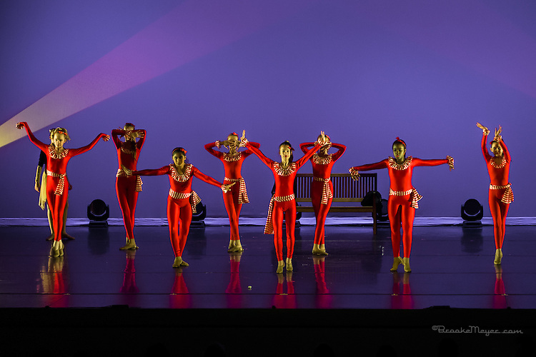 "3D Project Jazz Company, ""The Cracked Nut"", Sun. Matinee Performance, 20 Dec. 2015, Cary Arts Center, Cary, North Carolina."