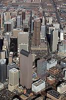 aerial photograph of Denver, Colorado
