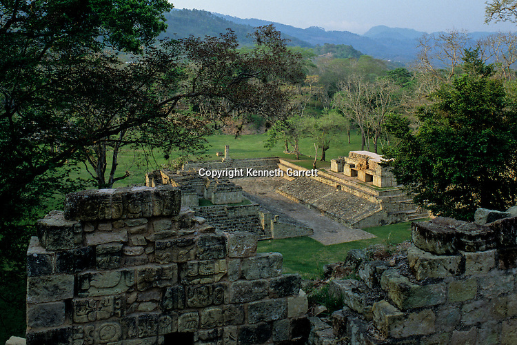 Ball court; Maya; Copan; Honduras; Ancient Cultures; Americas; Ruta Maya