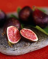 Detail of fresh figs