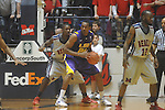 "Louisiana State's Storm Warren (24) defended by Ole Miss forward Terrance Henry (1) at the C.M. ""Tad"" Smith Coliseum in Oxford, Miss. on Wednesday, February 9, 2011. Ole Miss won 66-60 and is now 4-5 in the Southeastern Conference."