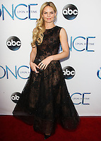HOLLYWOOD, LOS ANGELES, CA, USA - SEPTEMBER 21: Jennifer Morrison arrives at the Los Angeles Screening Of ABC's 'Once Upon A Time' Season 4 held at the El Capitan Theatre on September 21, 2014 in Hollywood, Los Angeles, California, United States. (Photo by Celebrity Monitor)