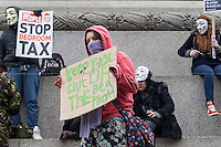 "30.03.2013 - ""Axe The Bedroom Tax"" - Demonstration"