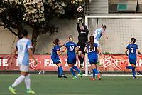 Seattle, WA - Sunday, May 21, 2017: Haley Kopmeyer during a regular season National Women's Soccer League (NWSL) match between the Seattle Reign FC and the Orlando Pride at Memorial Stadium.