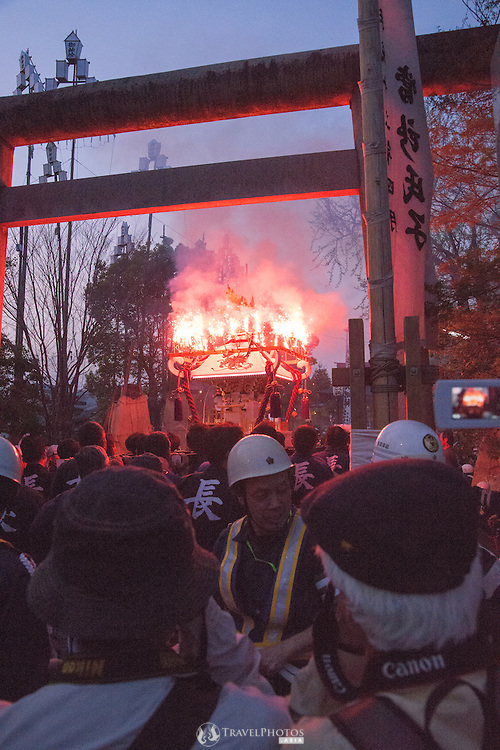 Tejikara Festival, at Tejikara Shrine, Gifu Japan.