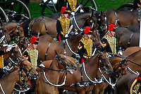 Trooping the Colors, Queen Elizabeth II Birthday Parade, Horse Guards Parade, London, Great Britain, UK