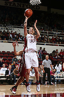 8 February 2007: Stanford Cardinal Brooke Smith during Stanford's 60-34 win against the Washington State Cougars at Maples Pavilion in Stanford, CA.