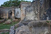 Zanzibar, Tanzania.  Marahubi Palace Ruins, 19th Century Palace for the Sultan's Wives.