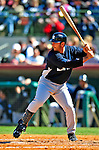 2 March 2009: New York Yankees' switch hitting catcher Jorge Posada at bat during a Spring Training game against the Houston Astros at Osceola County Stadium in Kissimmee, Florida. The teams played to a 5-5, 9-inning tie. Mandatory Photo Credit: Ed Wolfstein Photo