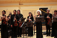 "Orpheus Chamber Orchestra, ""The New Brandenburgs"" during the Spring for Music festival at Carnegie Hall in Manhattan, New York on May 06, 2011. ."
