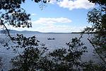Canoe on Moosehead Lake Maine