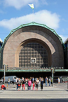 Helsinki, Finlandia.La stazione. The station.