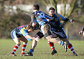 Old Cooperians RFC vs Old Brentwoods RFC - Essex Rugby League at Coopers Coborn School, Upminster - 30/01/10 - MANDATORY CREDIT: Gavin Ellis/TGSPHOTO - Self billing applies where appropriate - Tel: 0845 094 6026