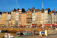 photo of Harbour side restauarant - La Bisquine . Honfleur, Normandy, France.