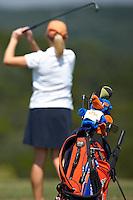 SAN ANTONIO, TX - SEPTEMBER 19, 2007: The University of Texas at San Antonio Roadrunners Women's Golf Fall Qualifier at the La Cantera Palmer Golf Course. (Photo by Jeff Huehn)