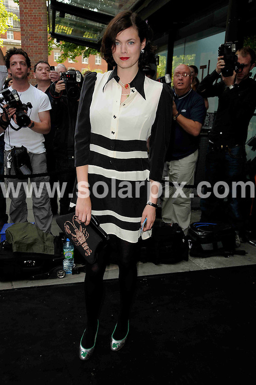 **ALL ROUND PICTURES FROM SOLARPIX.COM**.**WORLDWIDE SYNDICATION RIGHTS**.Celebrities arrive for a party at Sadlers Wells theatre. Sadlers Wells Theatre, London, UK. 16 June 2009..This pic: Jasmine Guinness..JOB REF: 9255 MSR    DATE: 16_06_2009.**MUST CREDIT SOLARPIX.COM OR DOUBLE FEE WILL BE CHARGED**.**ONLINE USAGE FEE GBP 50.00 PER PICTURE - NOTIFICATION OF USAGE TO PHOTO @ SOLARPIX.COM**.**CALL SOLARPIX : +34 952 811 768 or LOW RATE FROM UK 0844 617 7637**