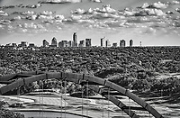 I wanted to give a litte more of a close up view of the Austin skyline so I zoomed in on the top of the 360 bridge so I could capture the cityscape with the bridge and the country club in the view. The city and bridge are a good distance apart so some day it is impossible to get a good shot.