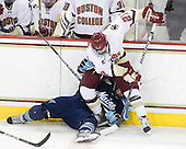 Patch Alber (BC - 27), Brian Flynn (Maine - 10) - The Boston College Eagles defeated the visiting University of Maine Black Bears 4-0 on Friday, November 19, 2010, at Conte Forum in Chestnut Hill, Massachusetts.