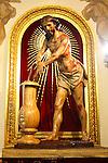 Cristo de la Columna de Salcillo en el Monasterio de Santa Ana en Jumilla.