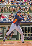 22 March 2015: Houston Astros first baseman Dan Johnson in Spring Training action against the Pittsburgh Pirates at Osceola County Stadium in Kissimmee, Florida. The Astros defeated the Pirates 14-2 in Grapefruit League play. Mandatory Credit: Ed Wolfstein Photo *** RAW (NEF) Image File Available ***