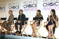 BEVERLY HILLS, CA - NOVEMBER 15: Wilmer Valderrama, Piper Perabo, Jordana Brewster, Jamie Chung attend the People's Choice Awards Nominations Press Conference at The Paley Center for Media on November 15, 2016 in Beverly Hills, California. (Credit: Parisa Afsahi/MediaPunch).