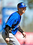 7 March 2010: New York Mets' outfielder Jason Bay warms up prior to a Spring Training game against the Washington Nationals at Tradition Field in Port St. Lucie, Florida. The Mets edged out the Nationals 6-5 in Grapefruit League pre-season play. Mandatory Credit: Ed Wolfstein Photo