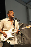 Robert Cray performing at the New Orleans Jazz and Heritage Festival in New Orleans, Louisiana, April 30, 2011.