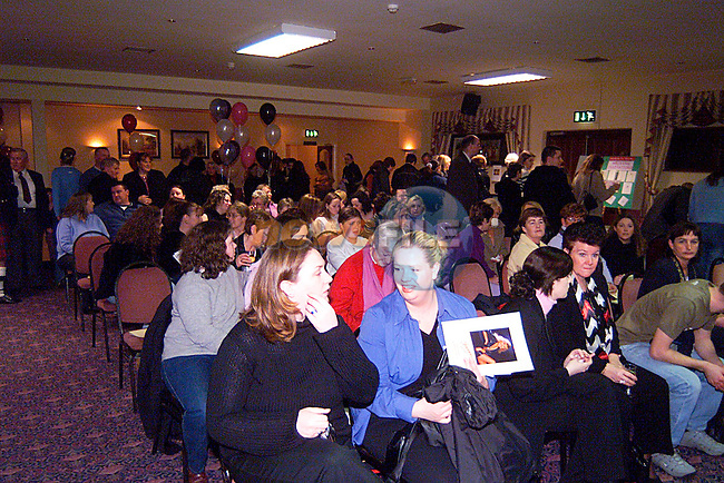 A large crowd at The Wedding Faye in the Glenside Hotel..Pic Tony Campbell/Newsfile