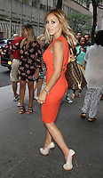 NEW YORK, NY-July 14: Melissa Gorga,  at New York Live to talk about the new season of the Real Housewiives of New Jersey in New York. NY July 14, 2016. Credit:RW/MediaPunch