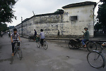 Once know to captured American pilots as the 'Hanoi Hilton'  during the war, now houses local criminals in Hanoi, North Vietnam.  (Jim Bryant Photo)....