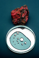 MERCURY &amp; RARE CRYSTAL CINNABAR<br />