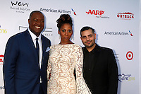PACIFIC PALISADES, CA - JULY16: Rodney Peete, Holly Robinson Peete, Micheal Costello at the 18th Annual DesignCare Gala on July 16, 2016 in Pacific Palisades, California. Credit: David Edwards/MediaPunch