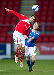 St Johnstone v Brechin...07.01.12  Scottish Cup Round 4.Paul McManus and Steven Anderson.Picture by Graeme Hart..Copyright Perthshire Picture Agency.Tel: 01738 623350  Mobile: 07990 594431