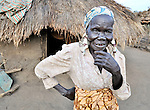 Rachel Nyoka, a woman in the village of Pisak, in Central Equatoria State in Southern Sudan. Nyoka is a United Methodist..