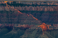 749220285 late afternoon light on the ancient geological formations along the north rim of grand canyon national park in northern arizona