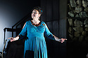 London, UK. 30.04.2014. English National Opera gives the world premiere of British composer Julian Anderson's first opera, THEBANS. Picture shows: Susan Bickley (Jocasta). Photograph © Jane Hobson.
