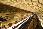 Washington DC; USA: The Metro, at Dupont Circle, public underground transportation.Photo copyright Lee Foster Photo # 25-washdc82472