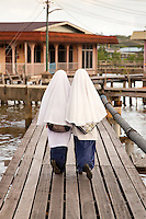 Kampung Ayer (Water village) , Bandar Seri Begawan (BSB) , Brunei