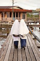 Kampung Ayer (Water village) , Bandar Seri Begawan (BSB) , Brunei