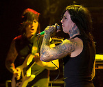 Las Vegas band Falling in Reverse opens for Guns N Roses at the Palladium in Hollywood...Photo by Miguel Vasconcellos