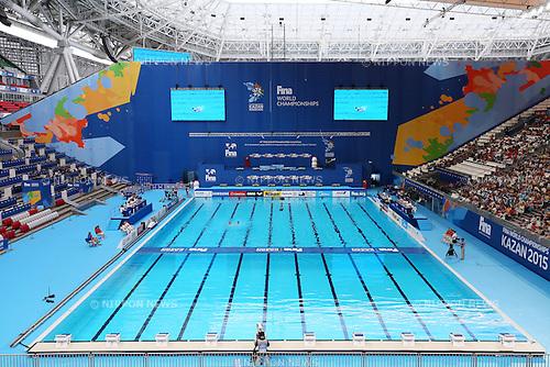 General view, JULY 28, 2015 - Synchronised Swimming : 16th FINA World Championships Kazan 2015 Duets Free Routine Preliminary at Kazan Arena in Kazan, Russia. (Photo by Yohei Osada/AFLO SPORT)
