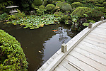 Photo shows  the Kkubuen garden that graces the Honma Museum of Art in Sakata, Yamagata Prefecture, Japan, on July 06, 2012. Construction of the garden was started in 1813. Photographer: Robert Gilhooly