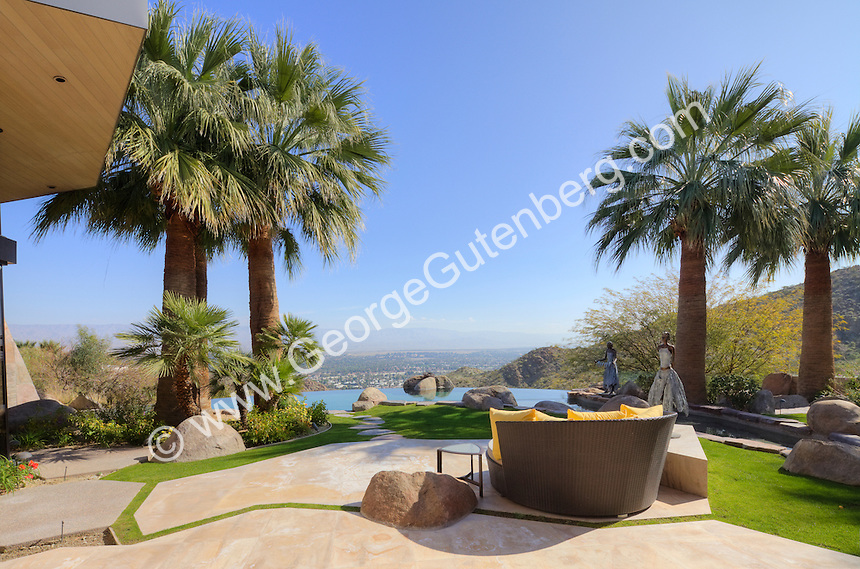 Stock photo of patio and outdoor living spaces