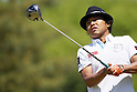 Shingo Katayama, MAY 13, 2012 - Golf : Shingo Katayama tees off on the 7th hole during the PGA Championship Nissin Cupnoodles Cup 2012 final round at Karasuyamajo Country Club, Tochigi, Japan. (Photo by Yusuke Nakanishi/AFLO SPORT) [1090]