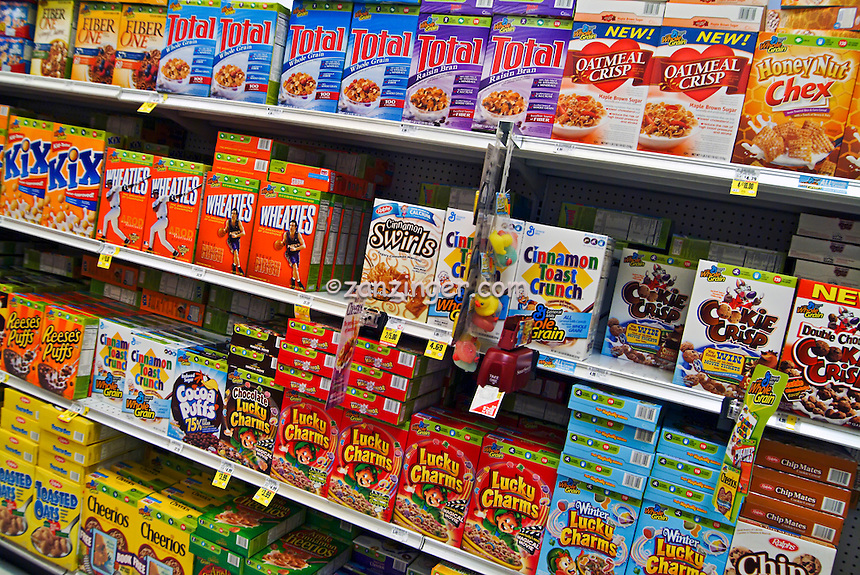 American grocery store cereal boxes | David Zanzinger Unique Urban ...: zanzinger.photoshelter.com/image/I0000aBeJbUR1dIM