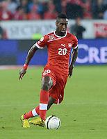 Fussball International  WM Qualifikation 2014   11.09.2012 Schweiz - Albanien Johan DJOUROU (Schweiz)