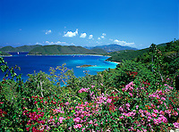 Cinnamon Bay, St John.Virgin Islands National Park.St. John, U.S. Virgin Islands