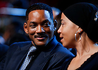 Actor Will Smith attends a performance at the Kennedy Center called &quot;Taking the Stage; African American Music and Stories that Changed America,&quot;  an event celebrating the opening of the Smithsonian National Museum of African American History and Culture, September 23, 2016, Washington, DC. US President Barack Obama and First Lady Michelle Obama (unseen) also attend the event.<br /> Credit: Aude Guerrucci / Pool via CNP /MediaPunch