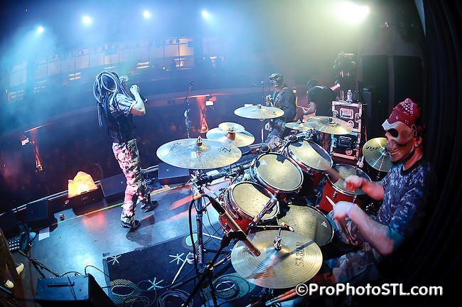 Exit 714 in concert at Voodoo Lounge of Harrah's Casino in Maryland Heights, MO on Oct 29, 2010.