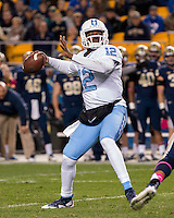North Carolina quarterback Marquise Williams. The North Carolina Tar Heels football team defeated the Pitt Panthers 26-19 on Thursday, October 29, 2015 at Heinz Field, Pittsburgh, Pennsylvania.